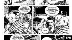 """El cómic """"Bim Bom"""", del guionista cubano Arturo Infante y el dibujante Renier Quer, el primer cómic cubano publicado en España."""