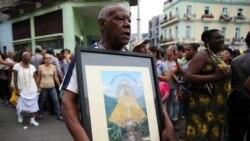Cubanos piden a la Virgen de la Caridad del Cobre salud y prosperidad