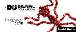 Cartel de la #00Bienal de La Habana.