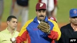 Nicolás Maduro en los Juegos Caribe de 2014 en Isla Margarita.AFP PHOTO/LEO RAMIREZ