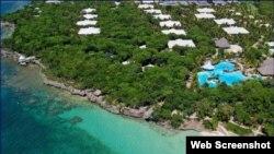 Las instalaciones de Paradisus Río de Oro, uno de los hoteles operados por Meliá en Playa Esmeralda, Holguín.