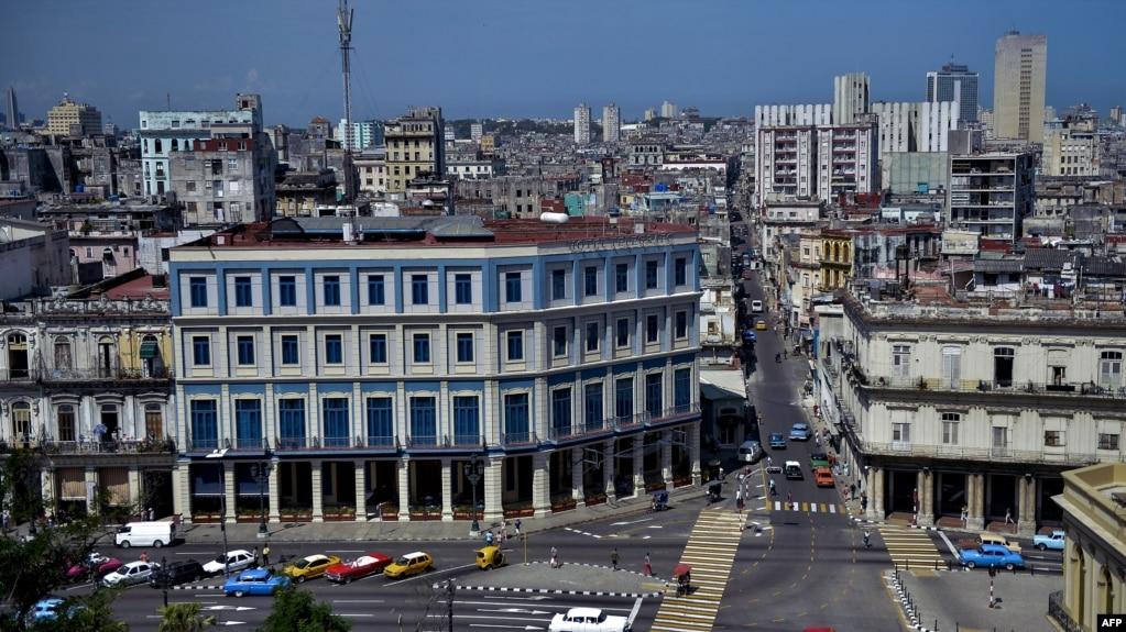 Vista de la ciudad de La Habana.