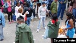 Berta Soler denuncia acto de repudio que recibieron las DB