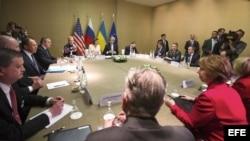 Reunión en Ginebra sobre la crisis de Ucrania