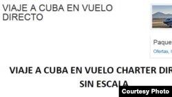 Vuelos San Juan a La Habana.