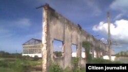 Donde antes hubo un central azucarero en Quemado de Güines