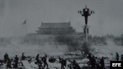 La masacre de los comunistas en Tiananmen.