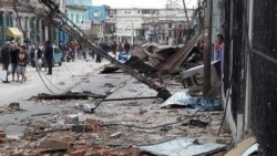 """Luyanó """"es una zona de desastre"""", dijo la periodista Luz Escobar"""
