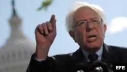 Foto de archivo del senador estadounidense independiente, Bernie Sanders.
