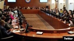 Consejo Permanente de la OEA. (Archivo)