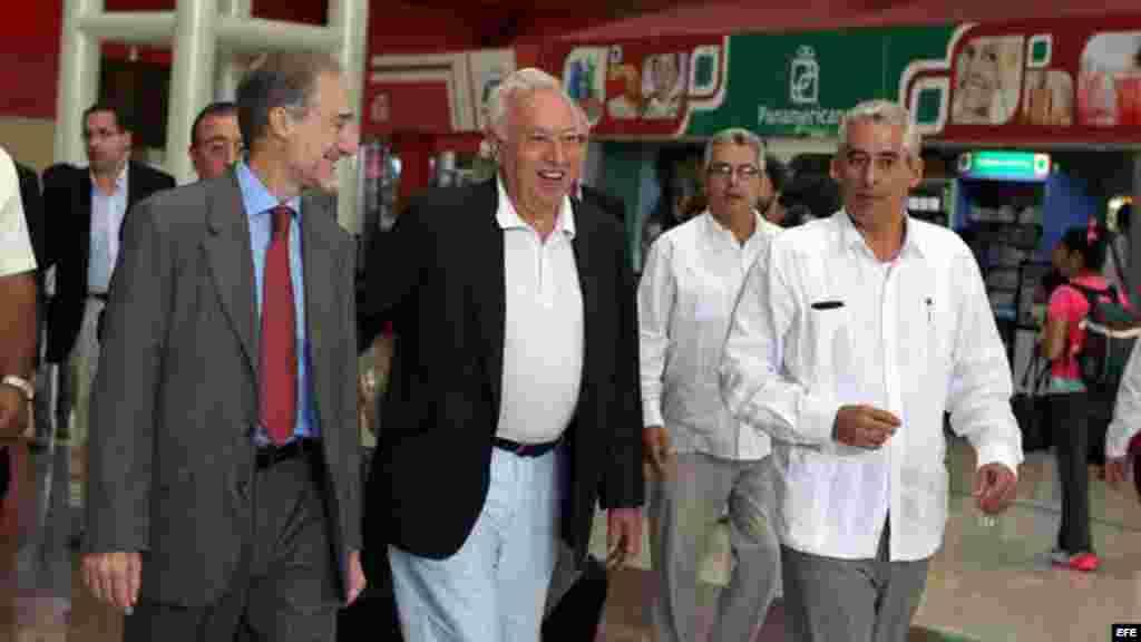 José Manuel García-Margallo llega a Cuba