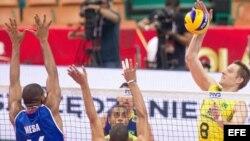 Cuba pierde con Brasil pero avanza a la segunda fase del Mundial