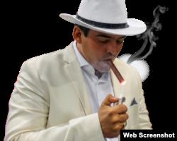 El empresario tabaquero Hirochi Robaina.