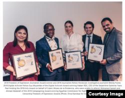 Los cubanos fueron los únicos laureados que no estuvieron en la ceremonia de Index Awards 2018
