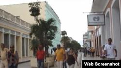 Reporta Cuba. Calles Cienfuegos.