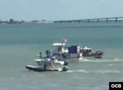 La flotilla del Movimiento Democracia acompaña al Adonia para enviar un mensaje al gobierno de Raúl Castro.