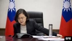 Phone conversation between Taiwanese President Tsai Ing-wen and US President-elect Donald Trump