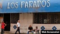 Cafetería Los Paradas. La Habana. Foto Iván García