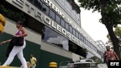 Oficinas principales de Petróleos de Venezuela S.A (PDVSA) en Caracas.