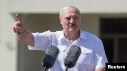 Alexander Lukashenko, dictador de Bielorrusia. (REUTERS/Stringer).
