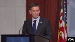 Mark Green, administrador de la USAID. (Captura de video/VOA)