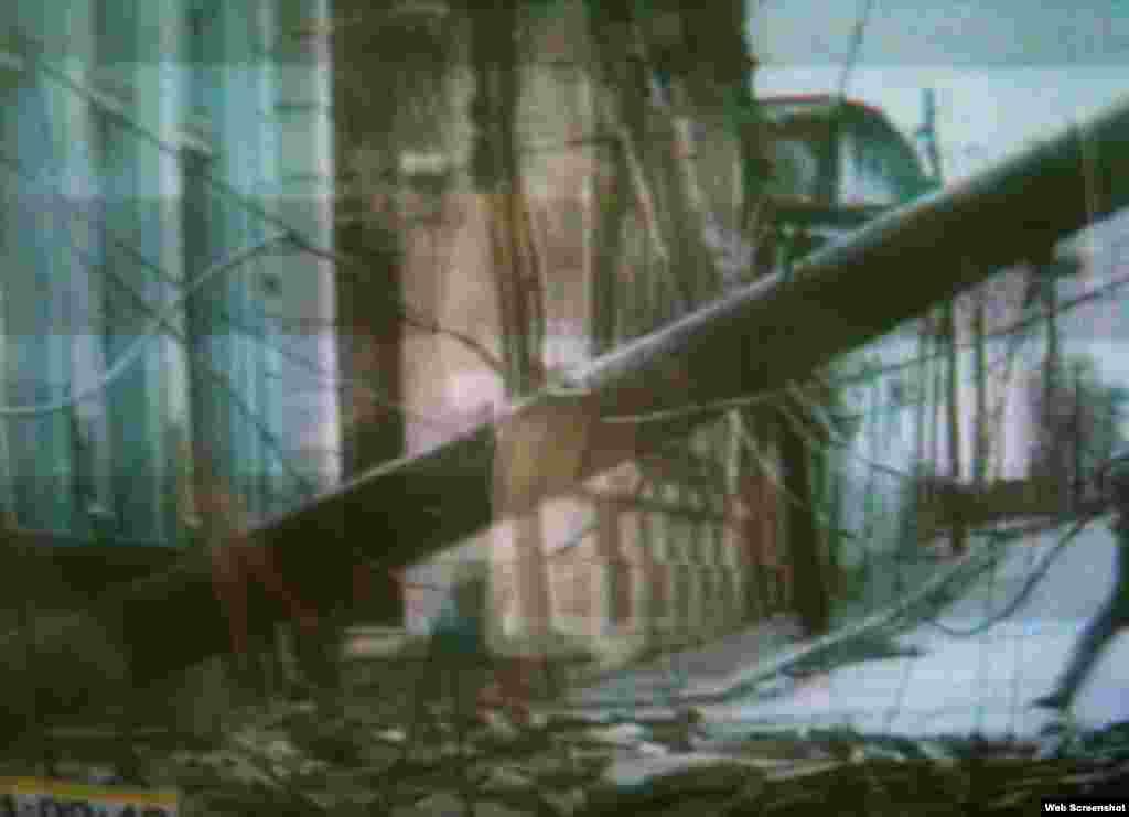 Daños causados por Sandy en Guantánamo
