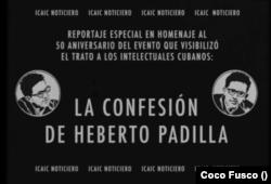 Heberto Padilla, su confesión