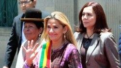 Añez denuncia múltiples casos de corrupción en la era de Morales