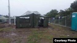 Campamento de refugiados, La Cruz en Costa Rica