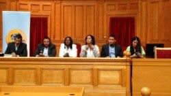 Cubanos en Foro por la Libertad de Internet y el Desarrolo Global 2013