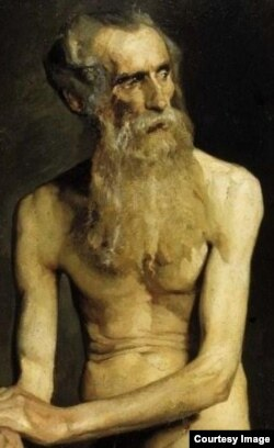 Anciano - Albert Edelfelt (1854-1905)