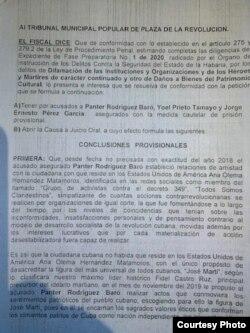 Petición Fiscal