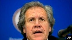 Luis Almagro, secretario general de la Organización de los Estados Americanos. (AP Photo/Jacquelyn Martin, File)