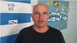 Ebert Hidalgo Curz cuenta a Radio Martí la experiencia de su reciente detención