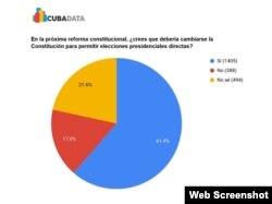 Sobre la reforma constitucional. (Captura de imagen/Diario de Cuba)