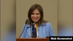 Leora Rosenberg Levy, nueva embajadora de EEUU en Chile. (Captura de video/Connecticut Republican Party)