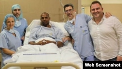 El velocista cubano Yunier Pérez fue sometido a una operación tras sufrir la rotura del tendón de Aquiles.