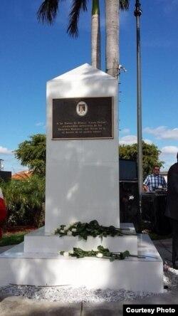 Monumento en memoria de Laura Pollán.
