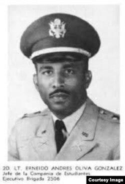 Oliva fue la segunda figura al mando de la Brigada 2506 que desembarcó por Bahía de Cochinos en 1961.