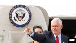 El vicepresidente de EEUU, Mike Penc.