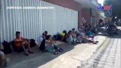 Continúan llegando cubanos a la ciudad de Tapachula