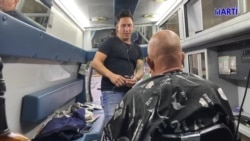 Barbería cubana sobre ruedas