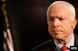 El senador (R) por Arizona John McCain.