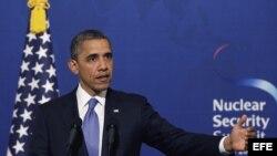 El presidente estadounidense, Barack Obama, se encuentra en Seúl para participar en la cumbre sobre Seguridad Nuclear los días 26 y 27 de marzo