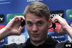 El guardameta Manuel Neuer.