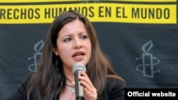 Erika Guevara-Rosas, directora para las Américas de Amnistía Internacional