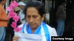 La Dama de Blanco fallecida Gisela Sánchez.
