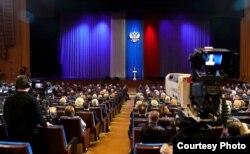 Putin en acto por el centenario del FSB