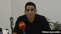 Carlos Amel Oliva informa sobre la condena a Eliécer Góngora Izaguirre.