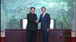 Líderes de las dos Coreas anuncian cumbre en septiembre